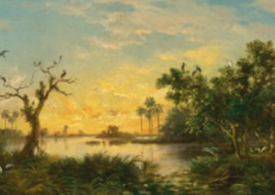 Laguna al Atardecer (Laguna at Sunset)
