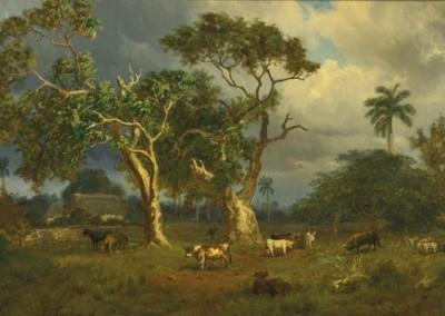 Paisaje Cubano (Cuban Landscape).