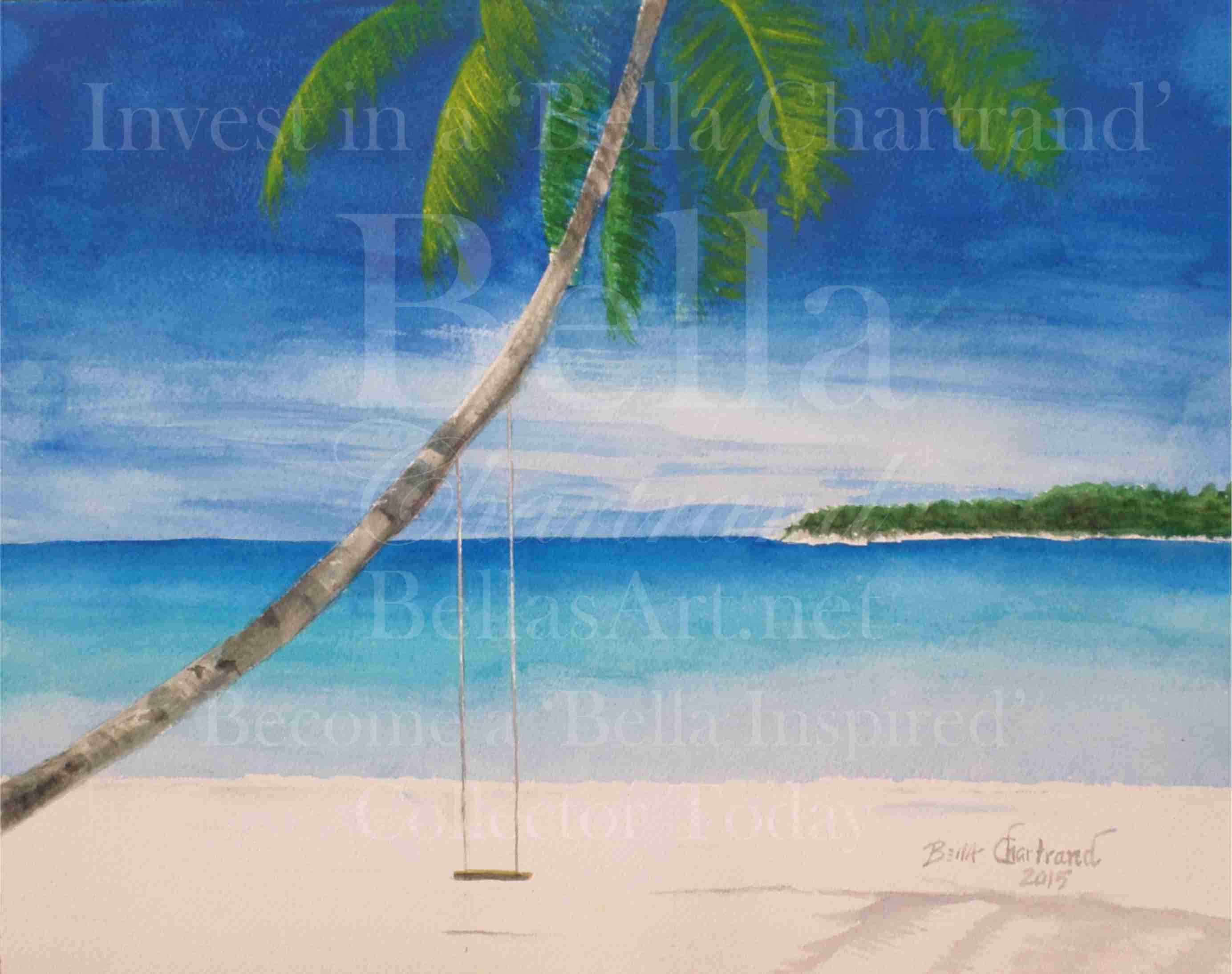 Beach Perch from Bella Inspired Seascape Collection by Bella Chartrand from Utopia USA