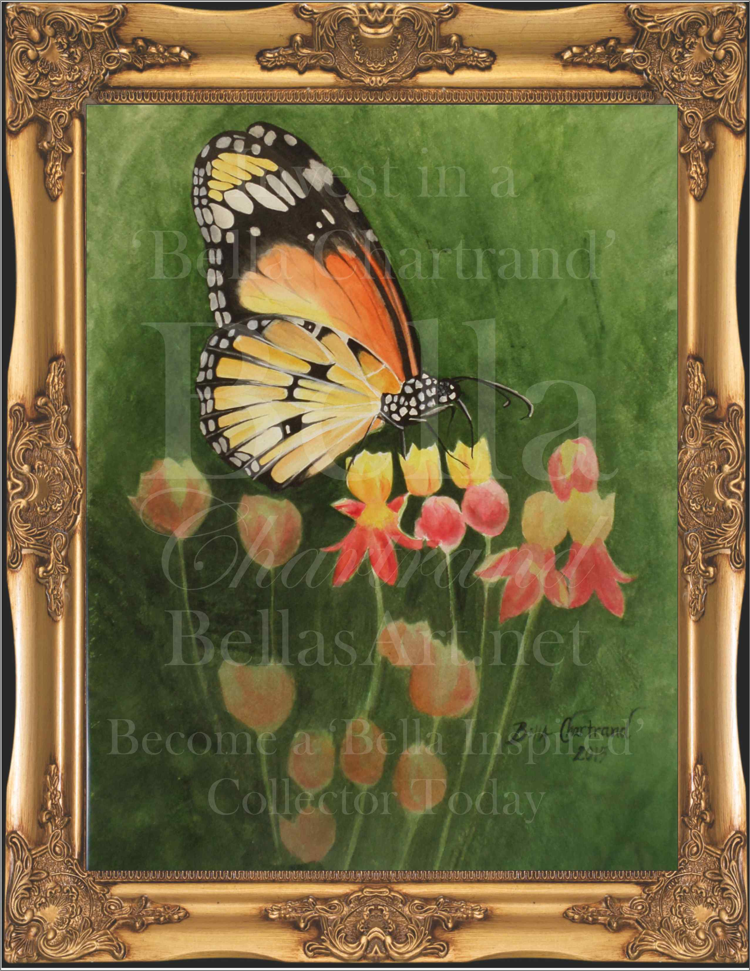 """""""Monarch Butterfly"""" from Bella Inspired Butterfly Collection by Bella Chartrand from Utopia USA"""